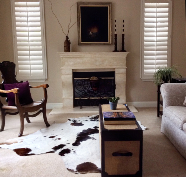 Interior Design with Cowhide Rugs