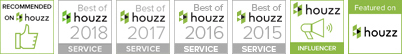 Susy McBride Design Houzz Badges