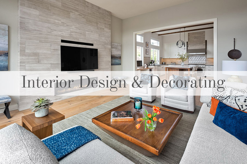 Full Service Interior Design & Decorating