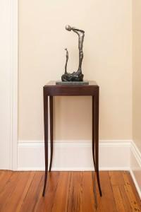 """""""Conversation with myself"""" sculpture artist Lorri Acott"""