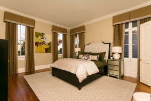 Guest Bedroom located next to the colorful Den